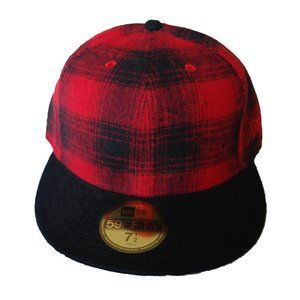 New Era Flannel Plaid Fitted Cap
